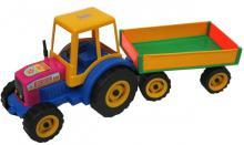 PL Traktor s vlekem FARMER na p�sek