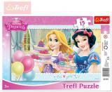TREFL PUZZLE R�mkov� Princezny Disney �ajov� p�rty 15 d�lk� 131210