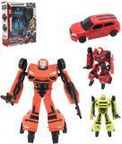 Transformer auto/robot 17cm transrobot plastový různé druhy set s doplňky