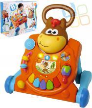 B-KIDS Baby chodítko + hrací pult aktivity 3v1 na baterie Světlo Zvuk pro miminko