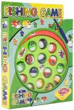 Hra malý rybář dětský rybolov 16x18cm na baterie set se 3 pruty