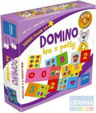 GRANNA Hra Domino s počty *SPOLEČENSKÉ HRY*