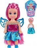 Sparkle Girlz 12cm panenka zimní princezna s křídly 4 druhy v kornoutku