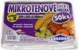 Mikrotenové sáčky 200x300/0.008