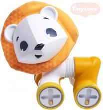 TINY LOVE Baby lev jezdící chrastící Leonardo 17cm plast pro miminko