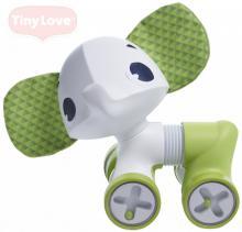 TINY LOVE Baby slon jezdící chrastící Samuel 17cm plast pro miminko