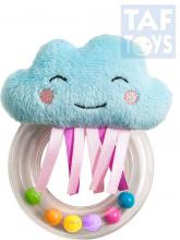 TAF TOYS Baby chrastítko kroužek s kuličkami mráček pro miminko