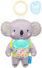 TAF TOYS Baby chrastítko textilní koala Kimmi 16cm set s kousátkem pro miminko