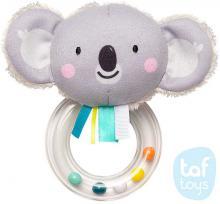 TAF TOYS Baby chrastítko textilní koala Kimmi 14cm pro miminko