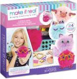 MAKE IT REAL Kreativní set vyrob si přívěsky roztomilé chlupaté koule