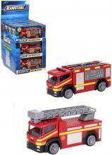 Teamsterz Fire Engine auto hasiči na baterie Světlo Zvuk různé druhy
