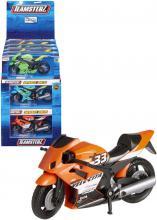 Teamsterz motocykl kovový v krabici 6 barev