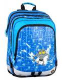 Klučičí školní batoh pro prvňáčky S1A 0114 C BLUE - Doprava zdarma, Výprodej
