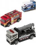 Teamsterz auto kovové pohotovostní vozidlo Policie / Hasiči různé druhy