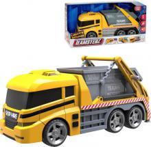 Teamsterz auto nákladní funkční 35cm s kontejnerem na baterie Světlo Zvuk