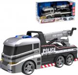 Teamsterz auto Policie funkční odtahová služba 35cm na baterie Světlo Zvuk
