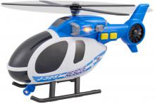 Teamsterz vrtulník policejní 39cm na baterie Světlo Zvuk
