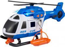 Teamsterz helikoptéra policejní 39cm set s nosítky na baterie Světlo Zvuk