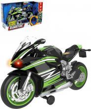 Teamsterz motorka sportovní plastová model na baterie Světlo Zvuk