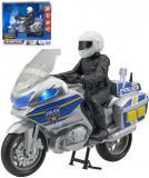 Teamsterz policejní set motocykl s figurkou policisty na baterie Světlo Zvuk