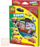SES CREATIVE Nálepky okenní Cars (Auta) set 26ks dekorace na okno