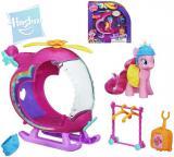 HASBRO MLP My Little Pony Pinkie Pie set s helikoptérou a doplňky
