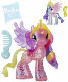 HASBRO MLP Poník My Little Pony třpytivý set s hřebínkem 2 druhy v krabičce