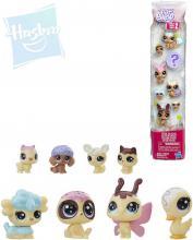 HASBRO LPS Littlest Pet Shop zvířátko Frosting Frenzy set 8ks 3 druhy plast