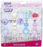 HASBRO Frosting Frenzy mini zvířátko Littlest Pet Shop set 13ks s přívěsky
