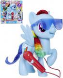 HASBRO MLP My Little Pony Zpívající Rainbow Dash koník na baterie Zvuk