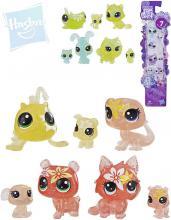 HASBRO LPS Littlest Pet Shop zvířátko květinové set 7ks na kartě 4 druhy