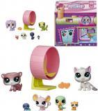 HASBRO LPS Divadlo herní set zvířátka Littlest Pet Shop s doplňky a nálepkami