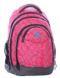 Dívčí studentský batoh NIE 0115 A PINK - Doprava zdarma