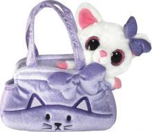 PLYŠ Yoo Hoo zvířátko ve fialové taštičce 20cm *PLYŠOVÉ HRAČKY*
