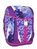 Dívčí školní aktovka-batoh s jednorožcem v setu pro prvňáka Bagmaster SET POLO 6 A
