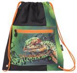 Klučičí sáček na přezůvky s dinosaurem Bagmaster SHOES BAG POLO 6 B