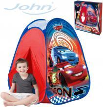 JOHN Stan dětský zahradní 75x75x90cm Pop Up Cars Neon (Auta)