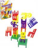 Hra Neposedné židličky na cesty v krabici *SPOLEČENSKÉ HRY*