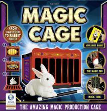 Škola kouzel Magická klec sada kouzel a triků s doplňky v krabici