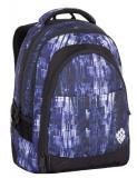 Studentský batoh Bagmaster DIGITAL 7 CH BLUE/BLACK