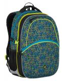 Školní batoh Bagmaster MADISON 7 C BLACK/BLUE/GREY