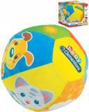 CLEMENTONI Baby soft míček zvířátka hudební na baterie Zvuk pro miminko