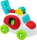 CLEMENTONI CLEMMY Baby set autíčko senzorické + 8 soft kostek pro miminko