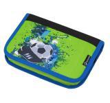 Školní penál fotbal BAGMASTER CASE ALFA 8 C GREEN/BLUE/BLACK