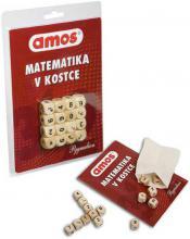 PYGMALION Amos hra Matematika v kostce set s kostkami v pytlíku na kartě