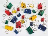 Klip Binder 25mm barevný