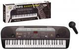 Pianko elektronické 54 kláves keyboard dětský set s mikrofonem na baterie