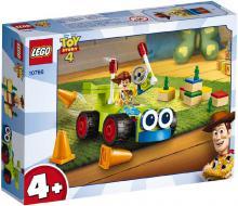 LEGO TOY STORY 4 Woody a závoďák 10766 STAVEBNICE