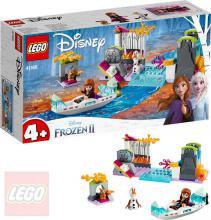 LEGO PRINCESS FROZEN 2 Anna a výprava na kánoi 41165 STAVEBNICE
