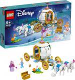 LEGO DISNEY Popelka a královský kočár 43192 STAVEBNICE